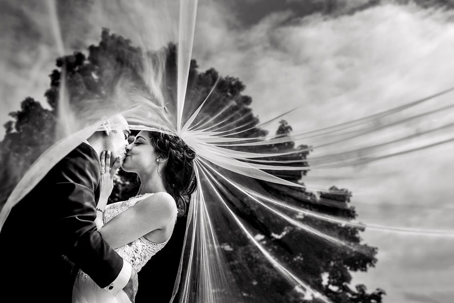 Bride and Groom Portrait: 3-rd Place by Sean LeBlanc (Sean LeBlanc Photography)