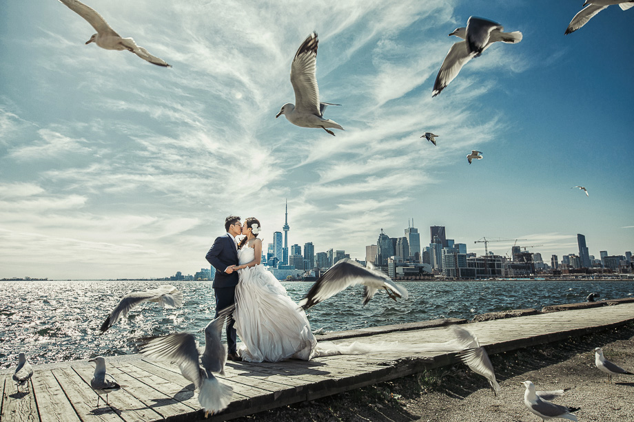 Bride and Groom Portrait: 6-th Place by Polk Liang (AGI Studio (Polk Liang))