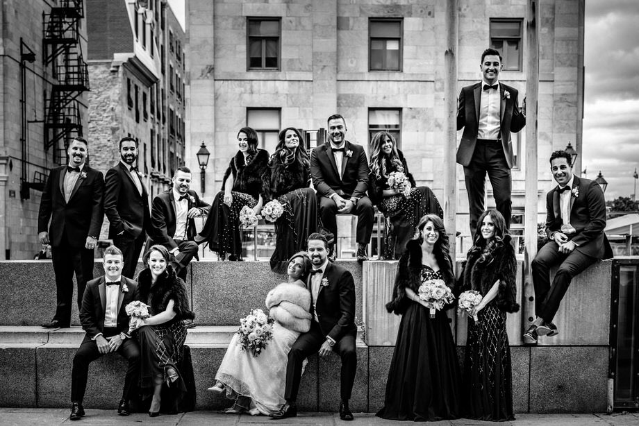 Bridal Party Portrait: 9-th Place by Tim Chin (TIMCHIN photography+design)