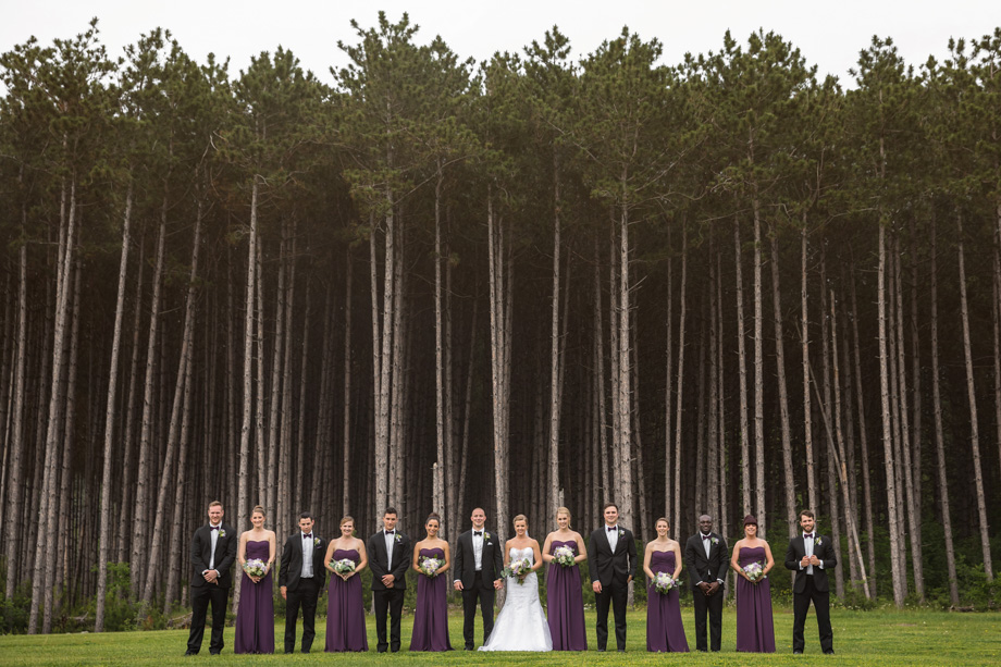 Bridal Party Portrait: 4-th Place by Martin McMahon (Martin McMahon Photography)