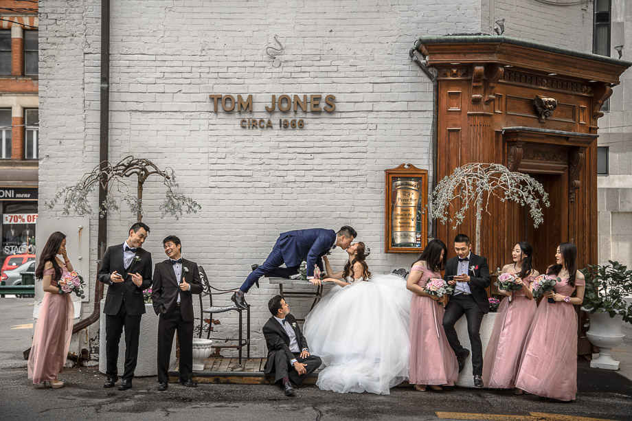 Bridal Party Portrait: 7-th Place by Polk Liang (AGI Studio (Polk Liang))