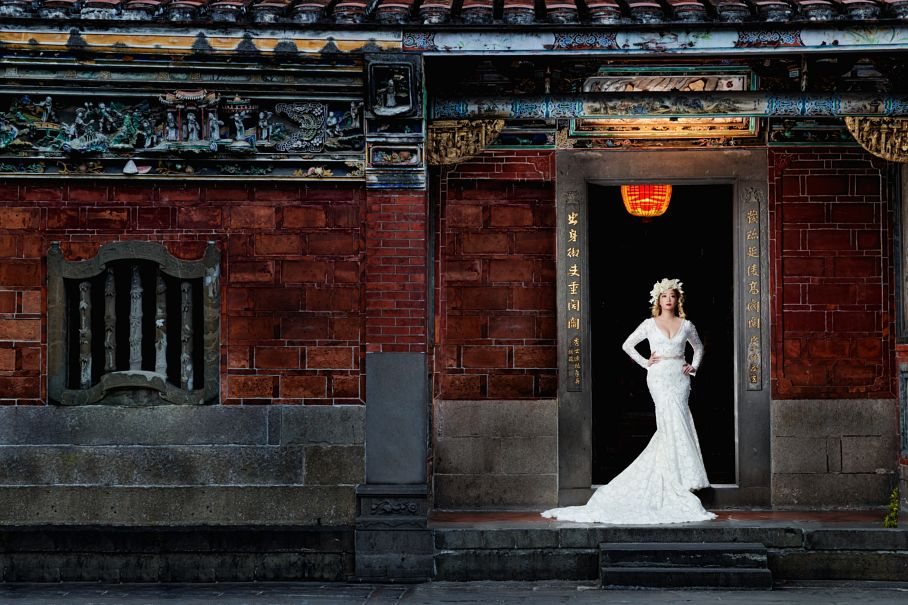 Bridal Portrait: 8-th Place by PingSen Wang (Sensen)