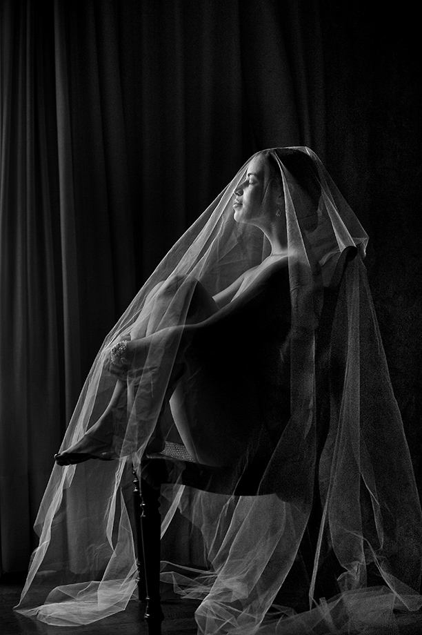 Bridal Portrait: 4-th Place by Davina Palik (davina + daniel)