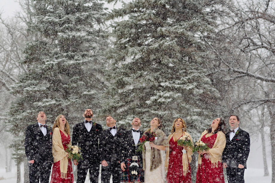 Bridal Party Portrait: 14-th Place by Curtis Moore (Moore Photography)
