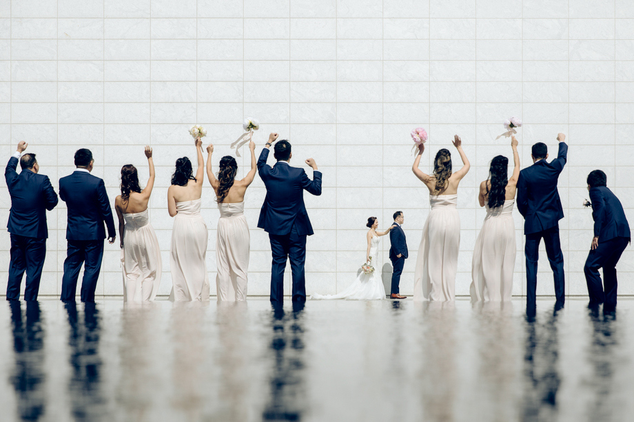 Bridal Party Portrait: 13-th Place by Polk Liang (AGI Studio (Polk Liang))