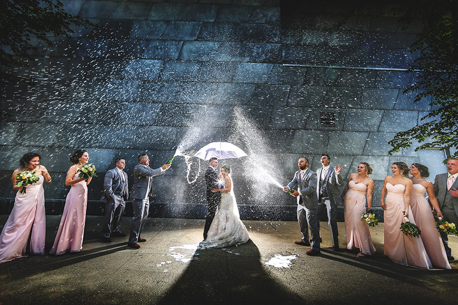 Bridal Party Portrait: 15-th Place by Kenneth Soong (Just Married Photography)