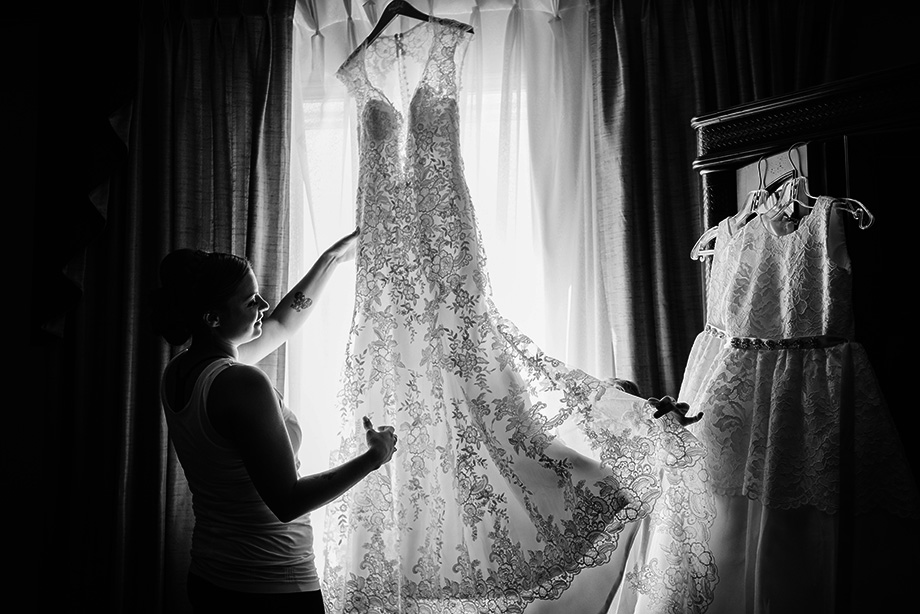 The Wedding Dress: 10-th Place by Chrystal Stringer (Chrystal Stringer Photography)