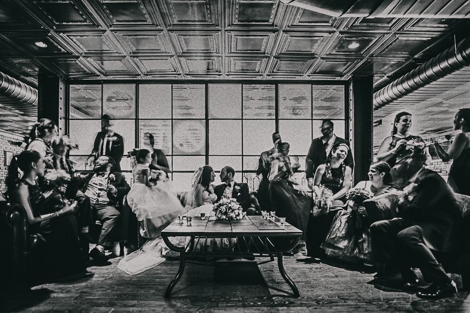 Bridal Party Portrait: 12-th Place by Dory Chamoun (N'Focus Productions)