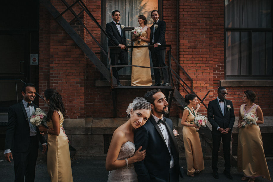 Bridal Party Portrait: 10-th Place by Tim Chin (TIMCHIN photography+design)
