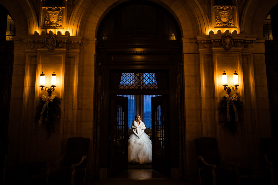 Bridal Portrait: 11-th Place by Curtis Moore (Moore Photography)