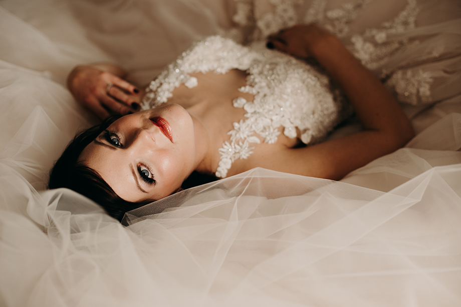 Bridal Portrait: 2-nd Place by Lisa Paradis Lacey Peoples (Island Moments Photography)