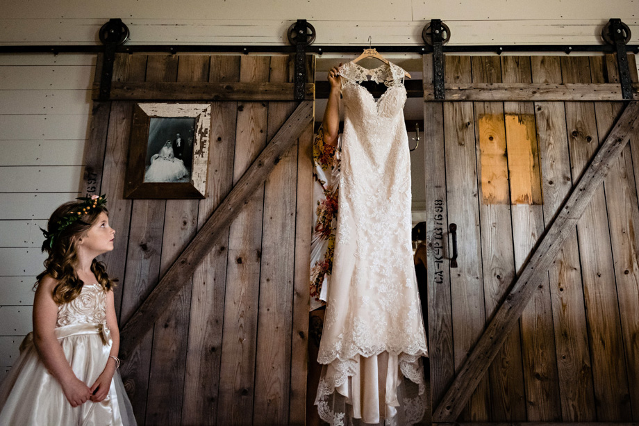 The Wedding Dress: 4-th Place by Curtis Moore (Moore Photography)