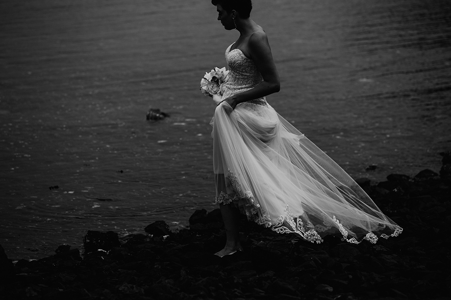 The Wedding Dress: 12-th Place by Lisa Paradis Lacey Peoples (Island Moments Photography)