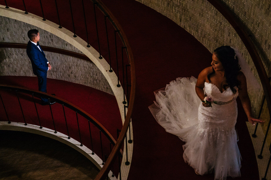 Bride and Groom Portrait: 6-th Place by Tim Chin (TIMCHIN photography+design)