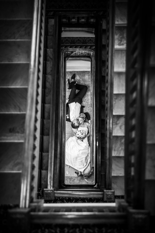 Bride and Groom Portrait: 7-th Place by Kenneth Soong (Just Married Photography)