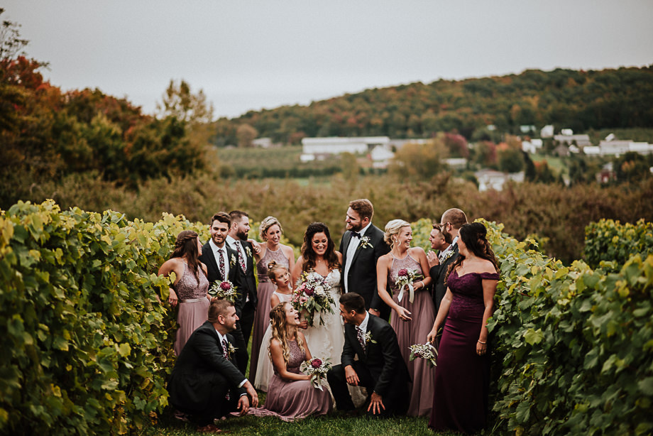 Bridal Party Portrait: 14-th Place by Katie-Marie Tidy (Photography by Katie-Marie)