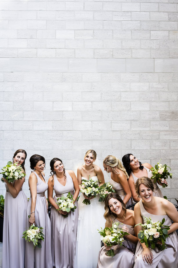 Bridal Party Portrait: 8-th Place by Marie-Christine Genero (Genero Photo)