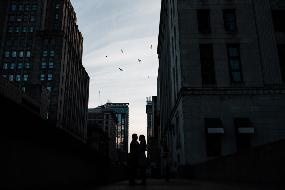 Engagement Portrait: 15-th Place by Justine Boulin (Justine Boulin Photography)
