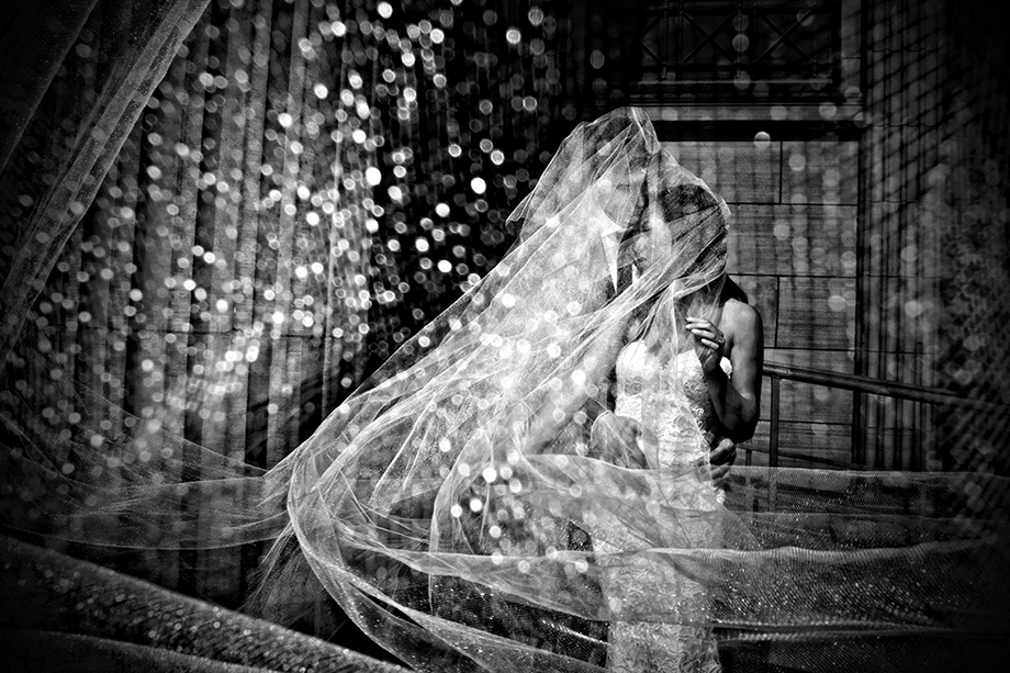 Bride and Groom Portrait: 10-th Place by Adeline Leonti (Avant Garde Studio)