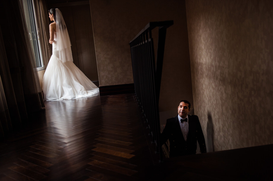 Bride and Groom Portrait: 8-th Place by Marie-Christine Genero (Genero Photo)