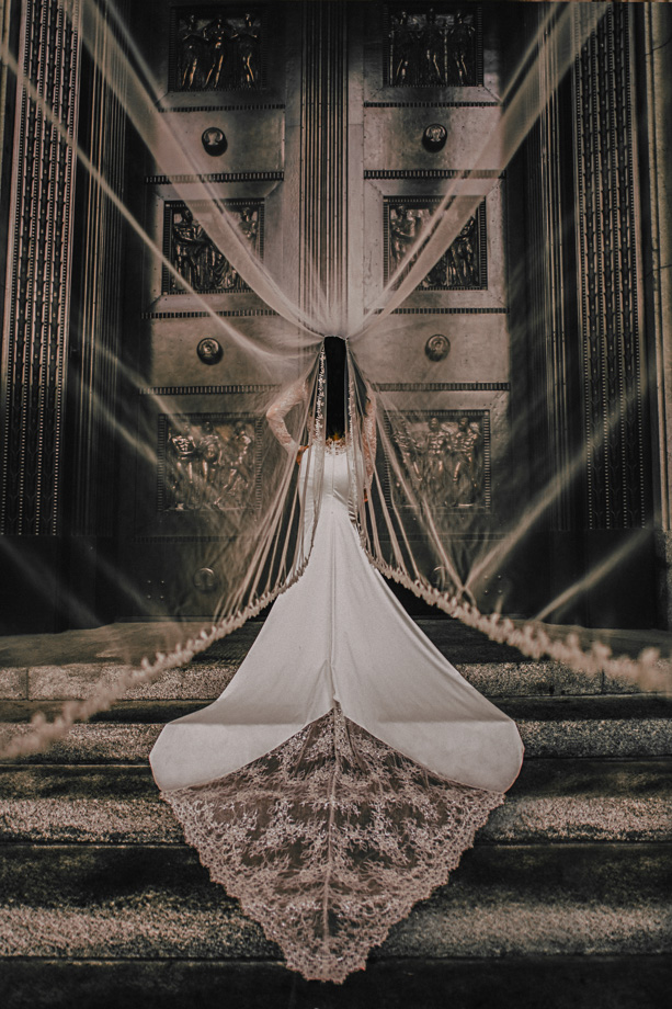 The Wedding Dress: 8-th Place by Dory Chamoun (N'Focus Productions)