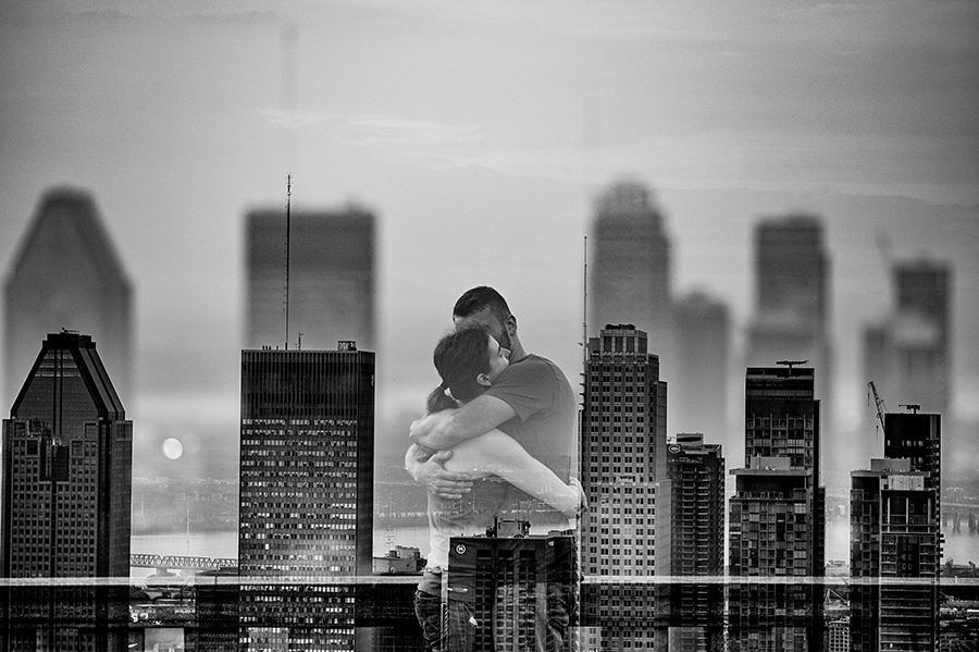 Engagement Portrait: 3-rd Place by Rabih Madi (Madi Photography)