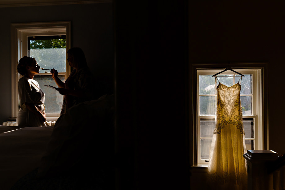 The Wedding Dress: 1-st Place by Curtis Moore (Moore Photography)