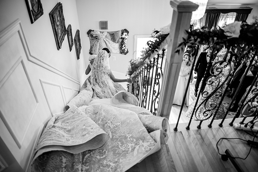 The Wedding Dress: 5-th Place by Rabih Madi (Madi Photography)