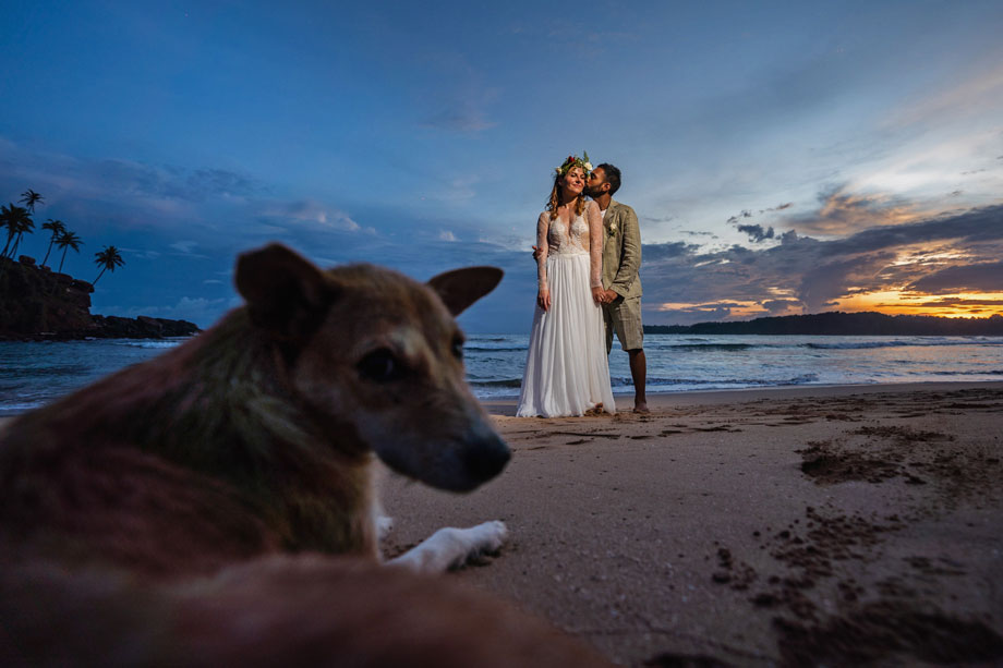 Bride and Groom Portrait: 3-rd Place by Geeshan Bandara (Geeshan Bandara Photography)