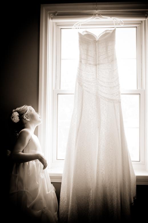 The Wedding Dress: 4-th Place by David Charlesworth (davidiam photography)