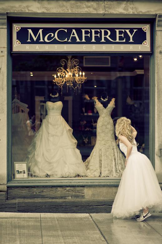 The Wedding Dress: 10-th Place by Juan Garcia (Avenida Garcia)