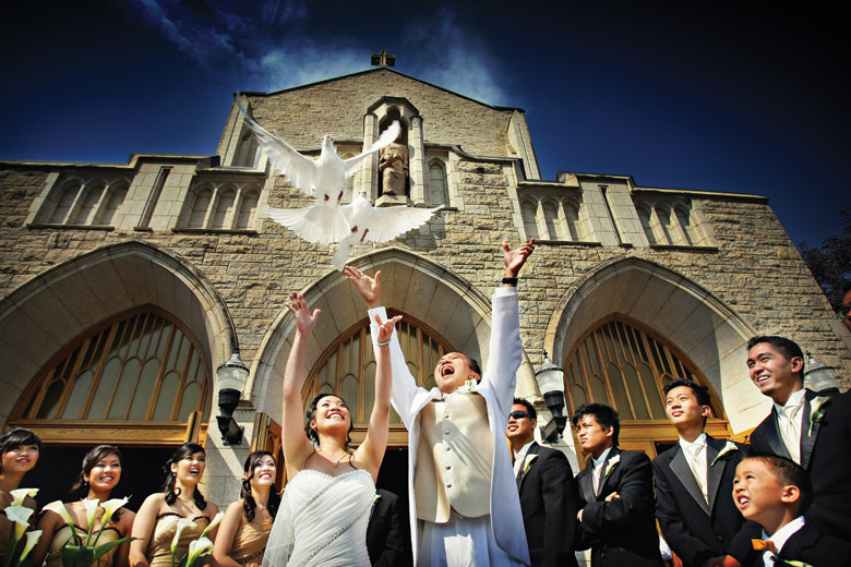 Ceremony: 2-nd Place by Elaine + Kenneth Soong (Just Married Photography)