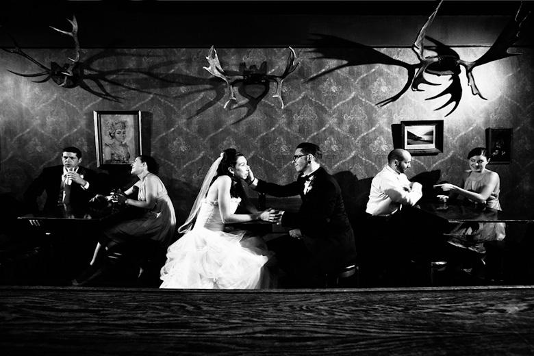 Bridal Party Portrait: 8-th Place by Karen + Tim Tallevi (Tallevi Studios)