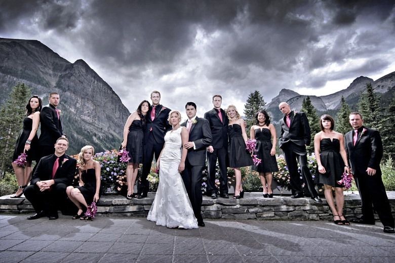 Bridal Party Portrait: 2-nd Place by Elaine + Kenneth Soong (Just Married Photography)