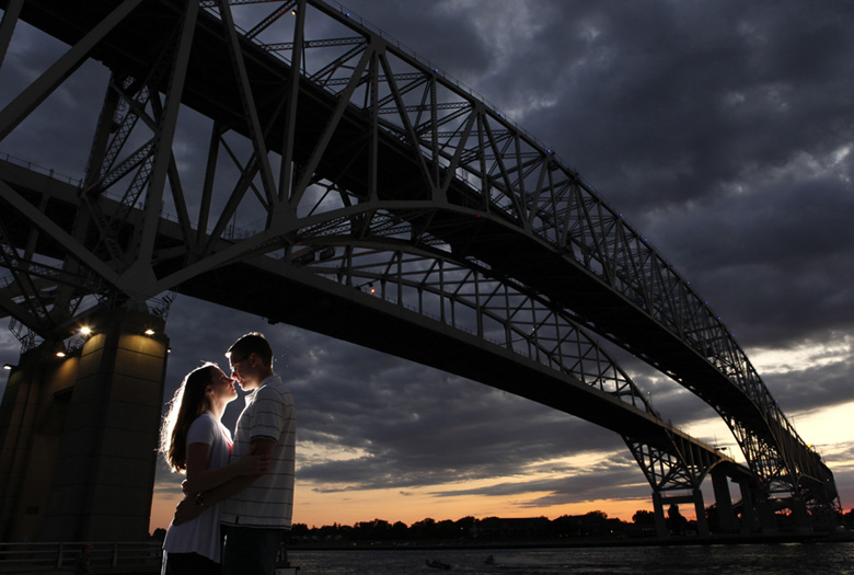 Engagement Portrait: 5-th Place by Brent Foster (Brent Foster Photography)