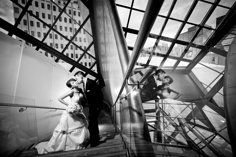 Reflections: 1-st Place by Elaine + Kenneth Soong (Just Married Photography)