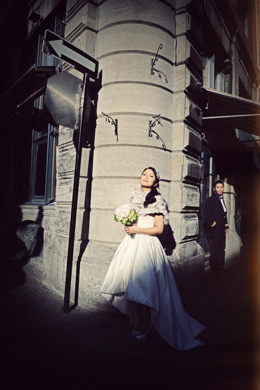 Bride and Groom Portrait: 5-th Place by Adeline Leonti (Avant Garde Studio)