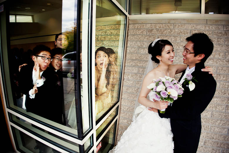 Bridal Party Portrait: 2-nd Place by Raymond Leung  (Raymond & Jessie Photography)