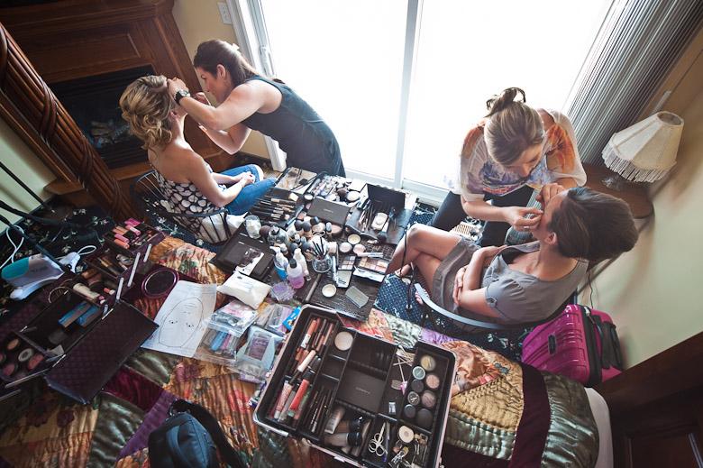 Getting Ready: 6-th Place by David Charlesworth (davidiam photography)