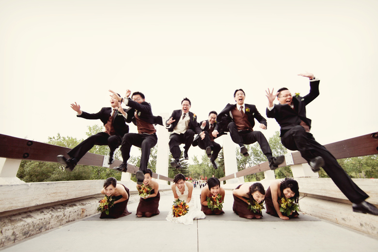 Bridal Party Portrait: 3-rd Place by Elaine + Kenneth Soong (Just Married Photography)