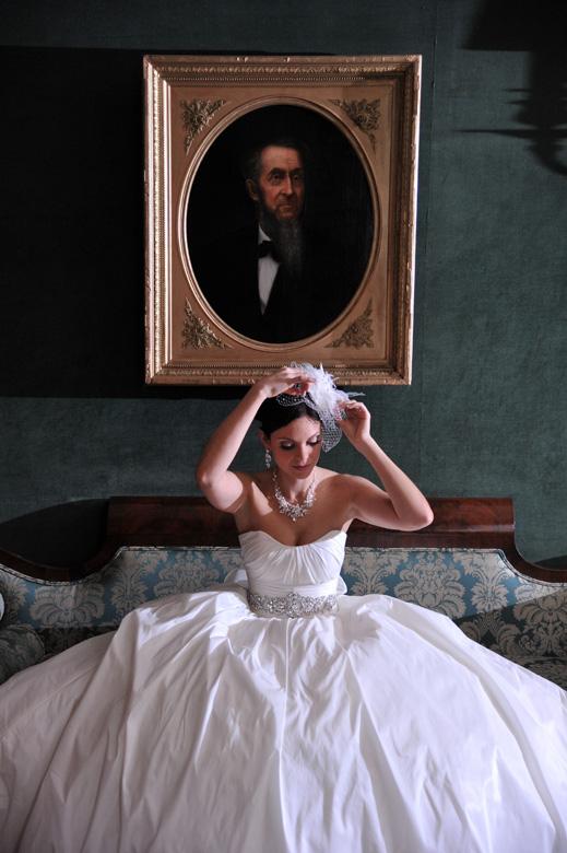 Bridal Portrait: 5-th Place by Steve Pomerleau (Steve Pomerleau Photography)