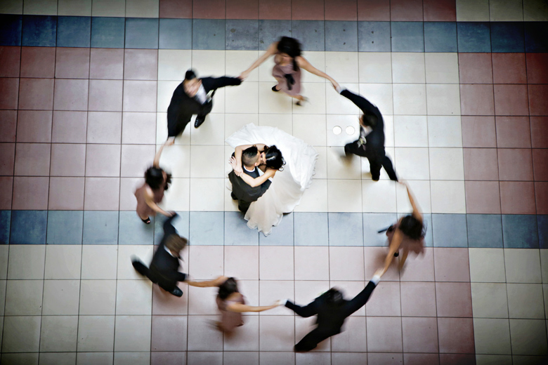 Movement and Motion: 7-th Place by Elaine + Kenneth Soong (Just Married Photography)