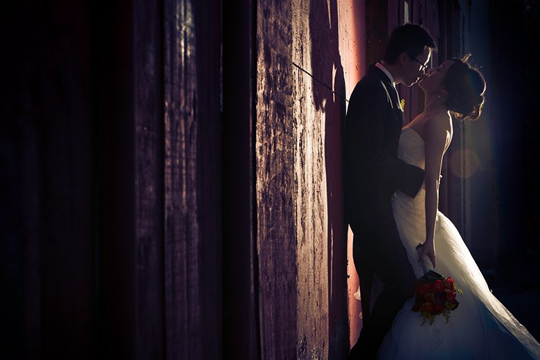 Bride and Groom Portrait: 5-th Place by Geoff Wilkings (Geoff Wilkings Photography)