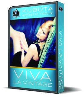 Click here to view the Prize from Kubota Image Tools - Viva La Vintage Photoshop Actions with DASHBOARD